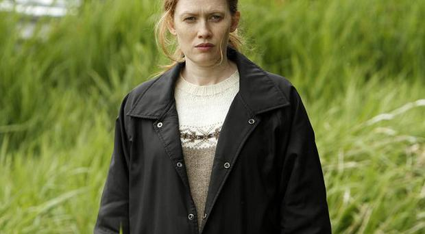 Mireille Enos was pregnant when she filmed the pilot