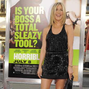 Jennifer Aniston plays a dentist in the new film
