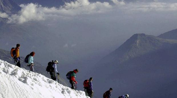 Two British climbers have died in the French Alps (AP)