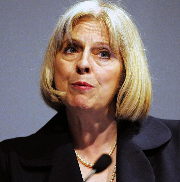 Home Secretary Theresa May accused police chiefs of not 'following my lead' on cutting red tape