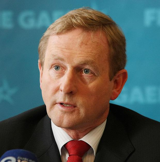 Enda Kenny has promised no income tax rise