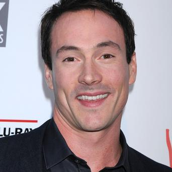 Chris Klein has been having fun on the American Pie set