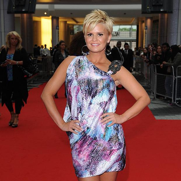 Kerry Katona has denied claims her previous agent dumped her