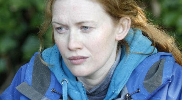 Mireille Enos was not worried about remaking the series