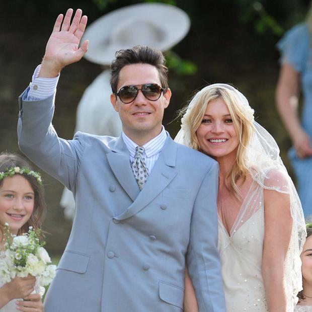Kate Moss and Jamie Hince are reportedly honeymooning on the Topshop boss' yacht