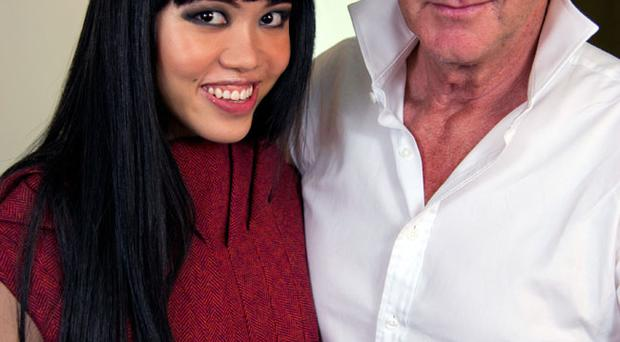 Backstage with Jessica Minh Anh and Paul Costelloe