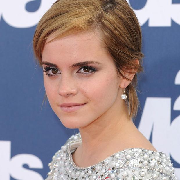 Emma Watson felt the pressure of her big screen kiss