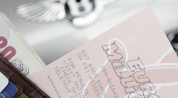 The EuroMillions jackpot will hit an estimated 166 million pounds on Friday
