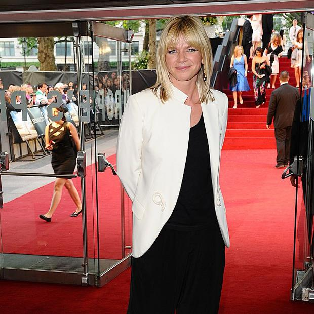Zoe Ball competed on Strictly with Ian Waite in 2005