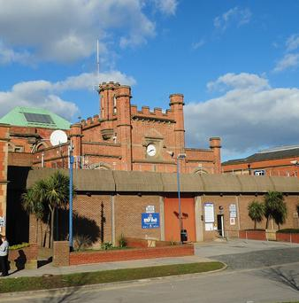 Inmates being transported from Hull Prison were injured in a road crash
