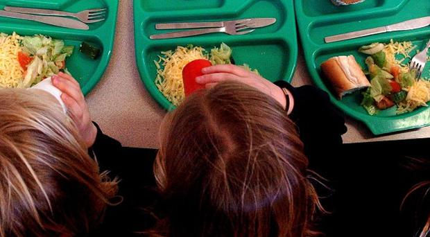 Rising numbers of pupils are eating school dinners, say official figures
