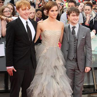 Rupert Grint, Emma Watson and Daniel Radcliffe were emotional at the premiere