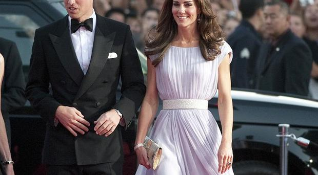 The Duke and Duchess of Cambridge arrive at the Bafta Brits
