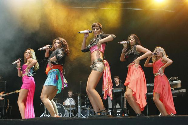 ,The Saturdays at OXEGEN 11 in Punchestown..KOBPIX NO FEE PIX ..7.7.11
