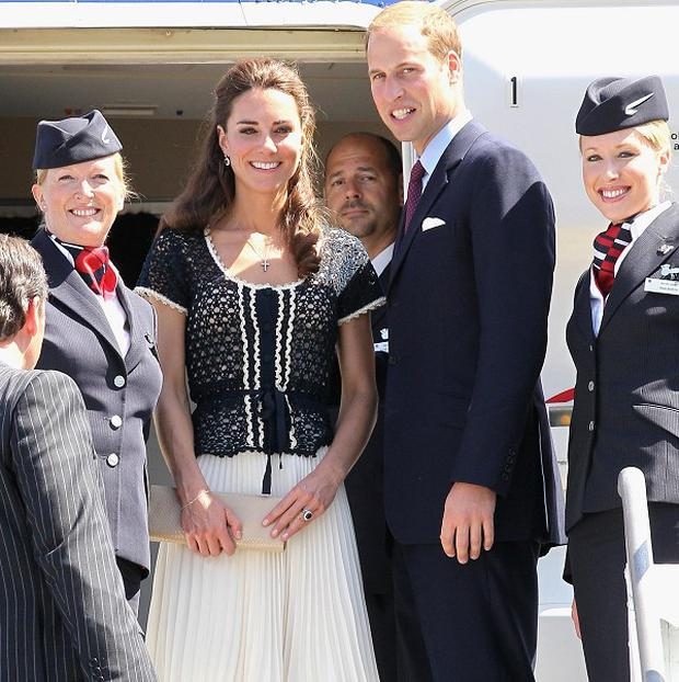 The Duke and Duchess of Cambridge are heading home after their first official tour as husband and wife