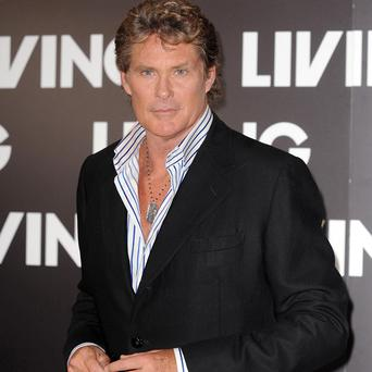 David Hasselhoff took his girlfriend for a burger