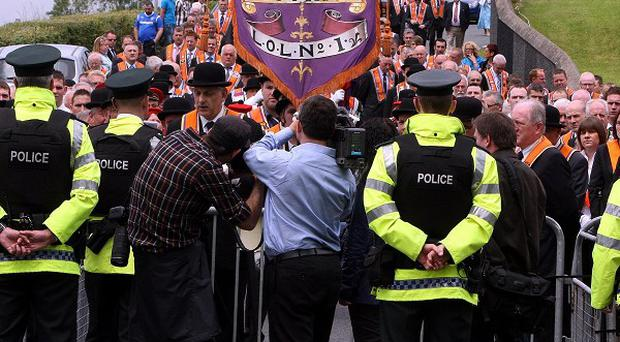 Police are preparing to mount a major security operation for Tuesday's big Twelfth of July parades