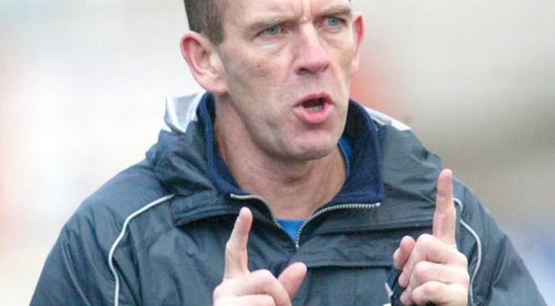 Outspoken: Kenny Shiels' disapproval of the IFA's recruitment policy was backed by some Irish League players on social network sites
