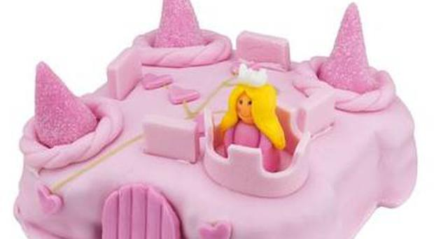 <b>6. Sainsbury's</b><br/> Best Budget Buy: For a mere tenner, this hand-decorated castle cake will light up any fairytale fan's big day. A strong rival for any made-to-order equivalent. <br/> <b>Price: £10, sainsburys.co.uk </b>