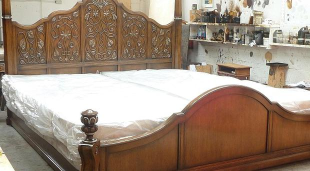 The Huge Bed Made For A Mystery Customer From Moscow By Ipswich Based  Titchmarsh And