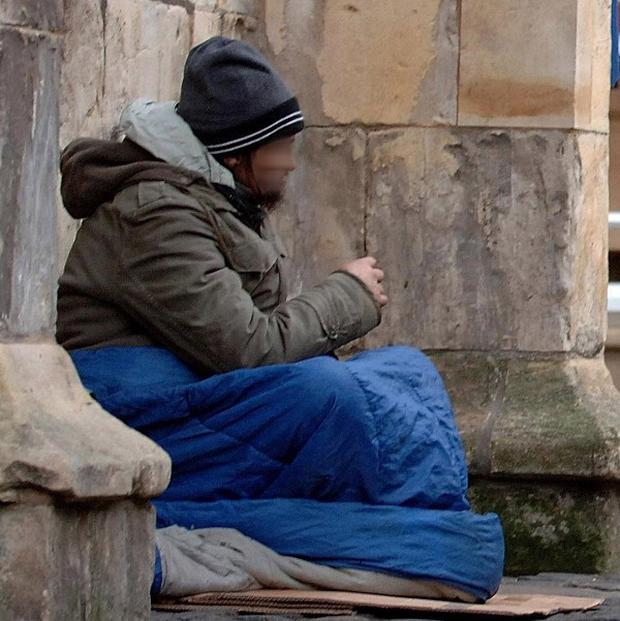 The number of people supported by a leading homeless charity increased by almost a fifth last year