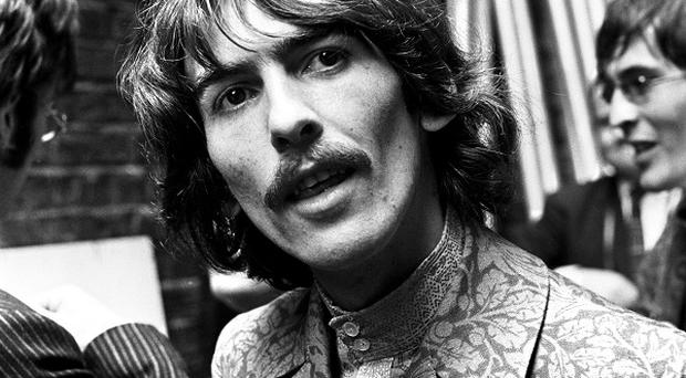 George Harrison died following a battle with cancer in 2001