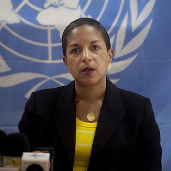 US Ambassador Susan Rice expressed concern about an report that says Syria has violated its nuclear non-proliferation obligations