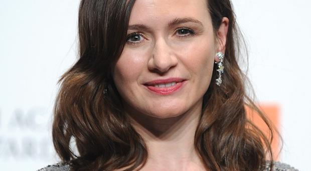 Emily Mortimer doesn't think she has good hair days on camera
