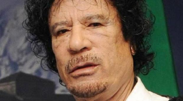 Muammar Gaddafi has been staging rallies in a bid to boost morale and show his people he is still strong