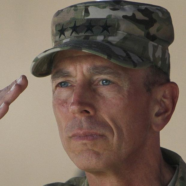 Outgoing International Security Assistance Force commander in Afghanistan General David Petraeus (AP)