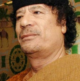 EU foreign ministers said Libyan leader Muammar Gaddafi must relinquish power immediately