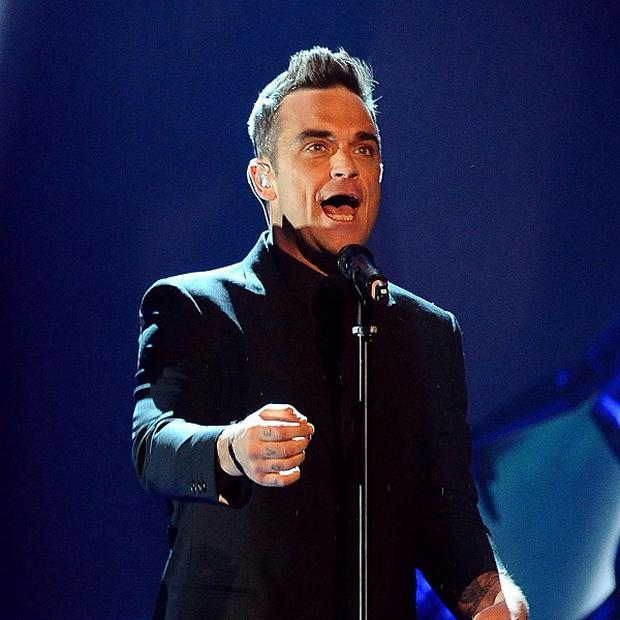 The show goes on for Robbie Williams