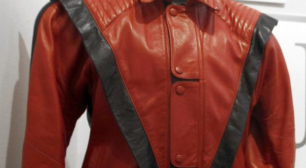 The red and black jacket Michael Jackson wore in the Thriller music video is going on tour to raise cash for charity