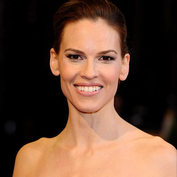 Hilary Swank has tended to play real-life individuals on the big screen
