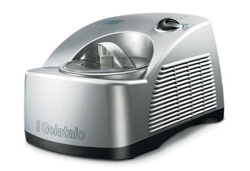 <b>DE LONGHI:</b> Another machine with a full refrigeration system, this creates ice cream within 15-30 minutes and there's a recipe book included. Its parts are dishwasher safe. <b>£249.99, sainsburys.co.uk</b>