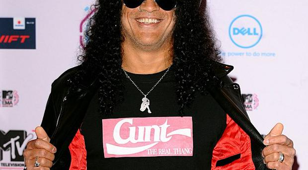 Slash is happy to revisit some old hits