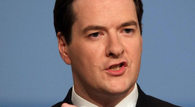Chancellor George Osborne has announced plans to cut the rate of interest on its 3.26 billion pound loan to Ireland