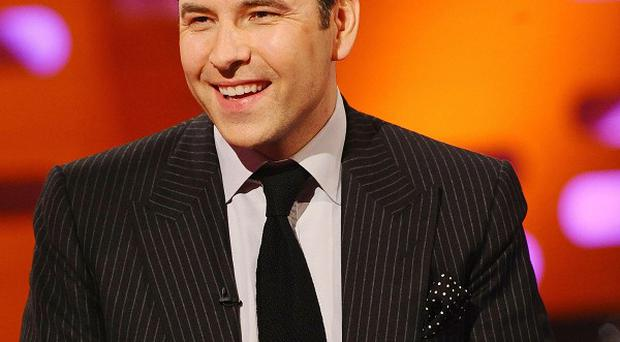 David Walliams voices a character in The Itch Of The Golden Nit