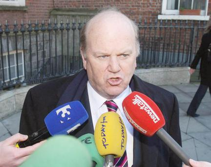 Michael Noonan wants people to spend again