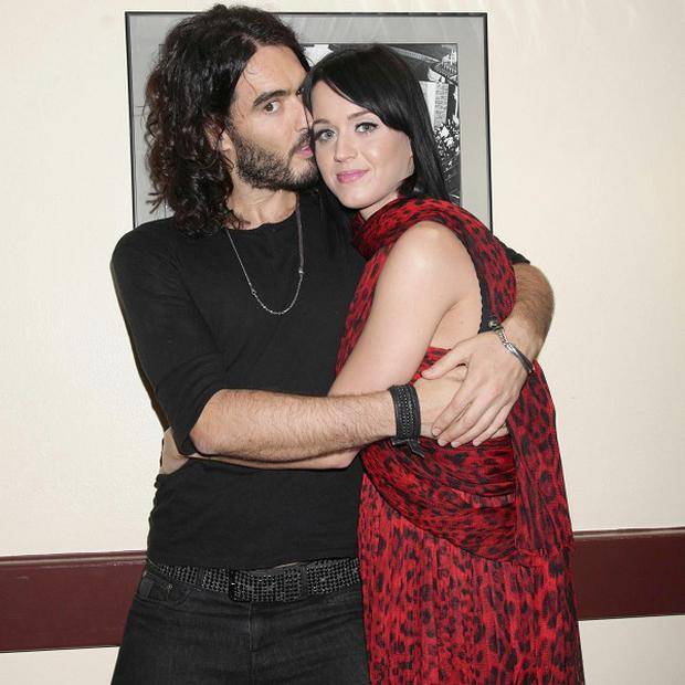 Katy Perry is glad her husband Russell Brand has stayed clean