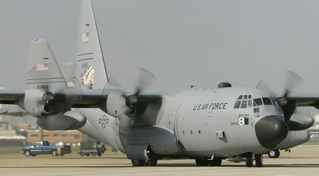 A C-130 plane similar to the one that crashed in Morocco killing 78 people(AP)