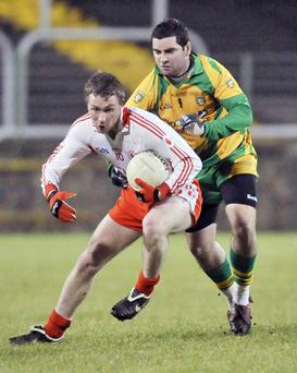 Tyrone's Sean O'Neill hopes to copper-fasten his place in the team