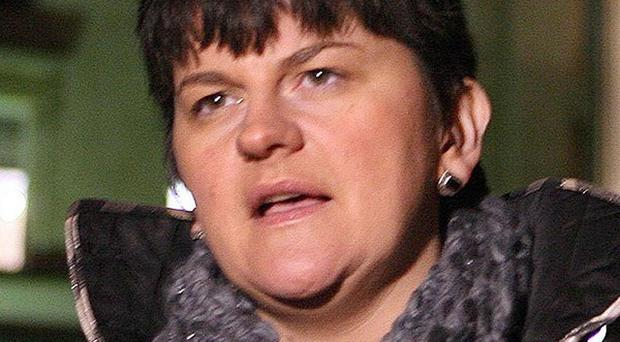 A Co Antrim firm has secured a five million pound contract, Arlene Foster announced