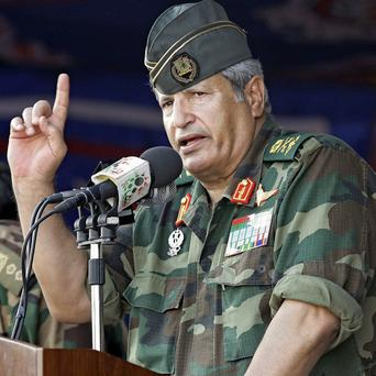 Rebel forces chief commander Abdel-Fattah Younis has been killed