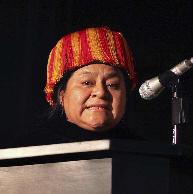 Rigoberta Menchu has officially registered as a candidate in Guatemala's presidential election (AP)