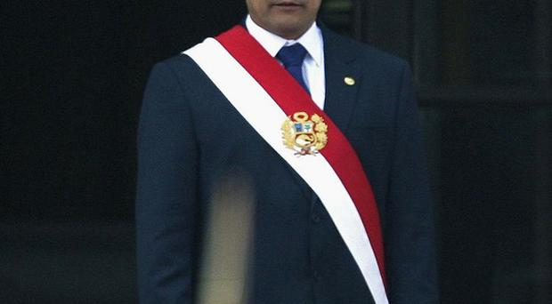 Peru's president Ollanta Humala wants to target poverty in his country (AP)