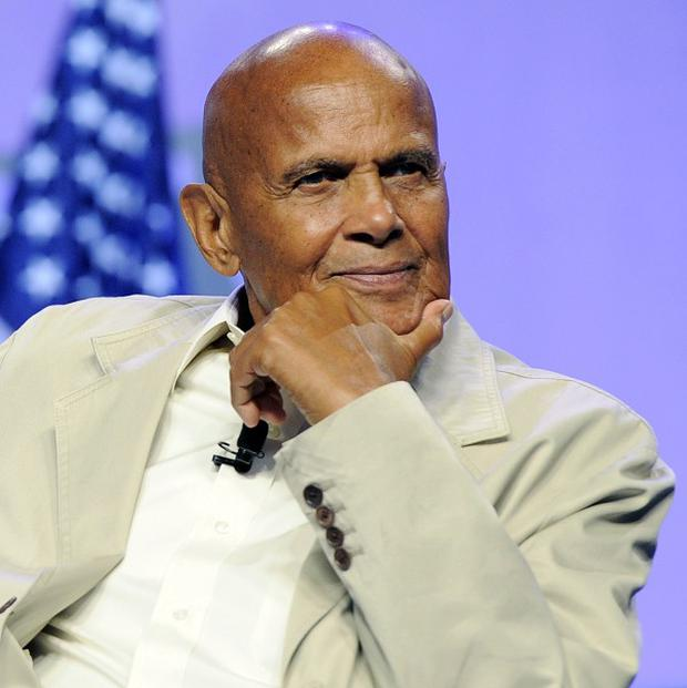 Harry Belafonte at the 102nd NAACP Annual Convention in Los Angeles