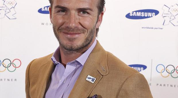 David Beckham announced the news on his Facebook page
