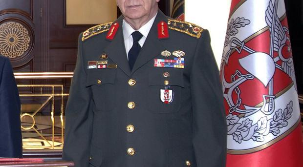 Turkey's chief of staff General Isik Kosaner has resigned (AP)