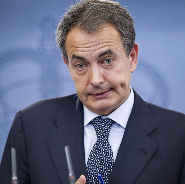 Spain's Prime Minister Jose Luis Rodriguez Zapatero has called for general elections on November 20 (AP)